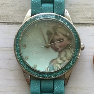 Disney Elsa Frozen Turquoise Accutime Watch